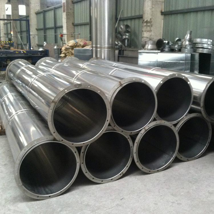 不锈钢油烟管道安装