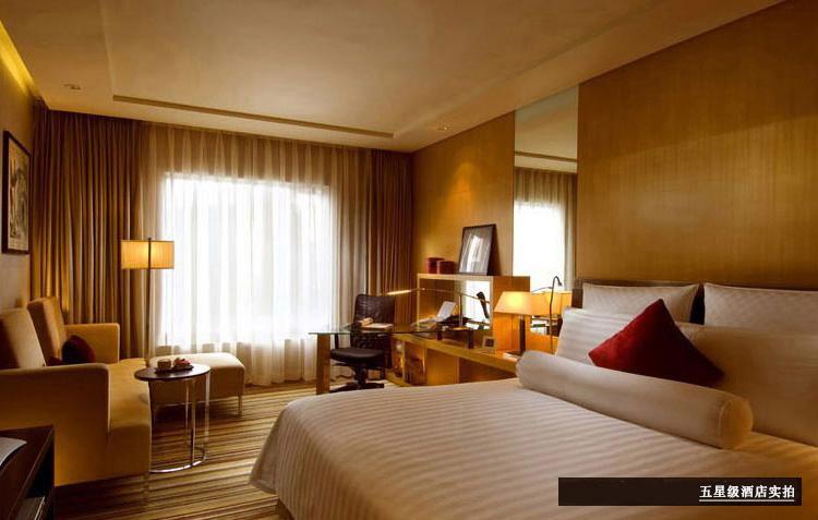 君芝友家纺全棉床单被套,酒店床上用品白色纯棉四件套,可定制 1.5米