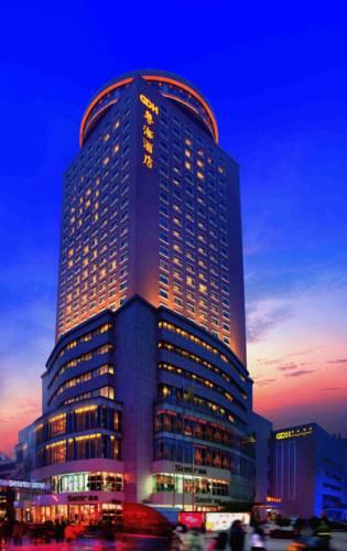郑州粤海酒店和酒店用品厂家君芝友合作,提供酒店内客房布草,一次性用品等