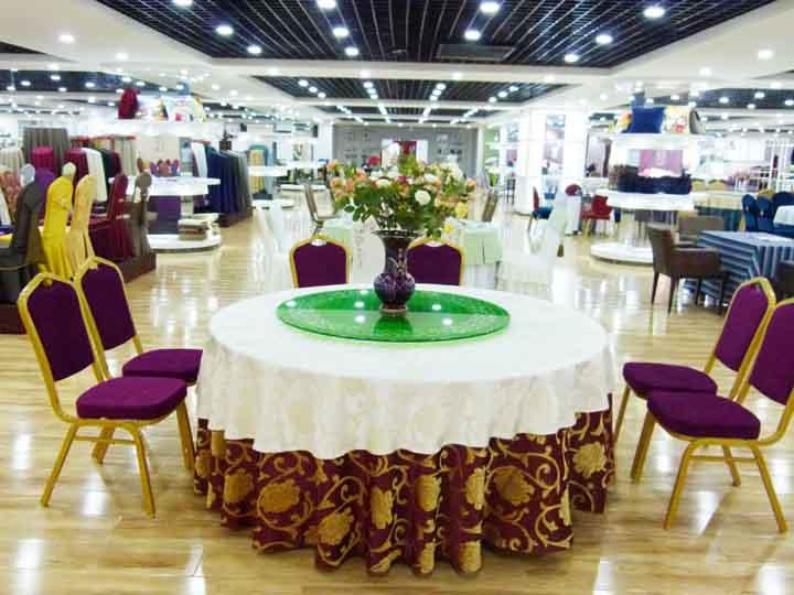 郑州君芝友酒店用品分享酒店餐桌布如何搭配呢?