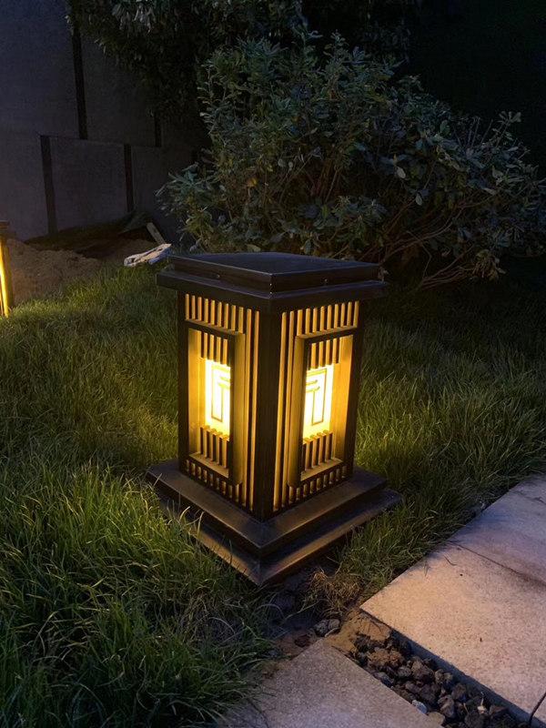 朗和照明柱头灯