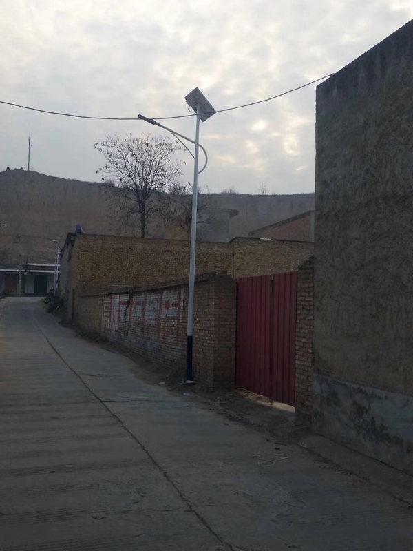 陕西省渭南市富平县太阳能路灯亮化工程