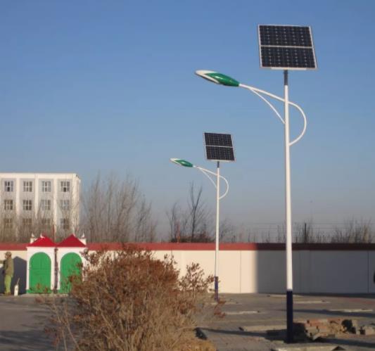 太阳能路灯这样安装可实现好的照明效果