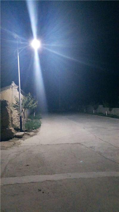 山西省运城 正阳镇 美丽乡村 太阳能路灯亮化工程