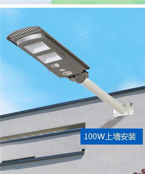 陕西农家院子自用太阳能路灯