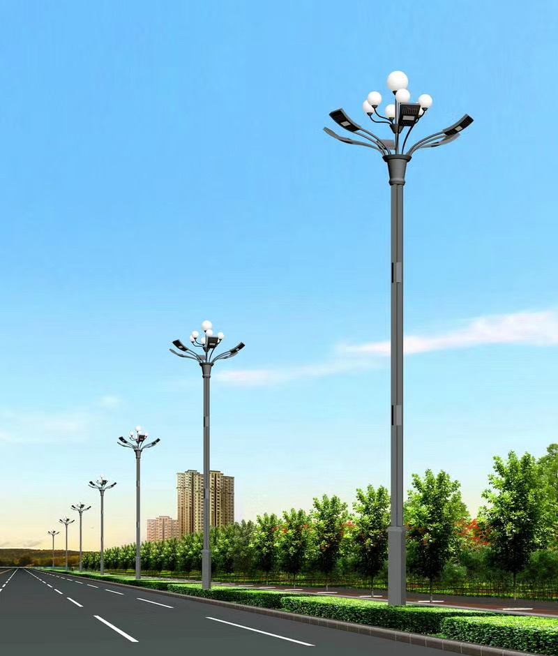 朗和照明仿古太阳能路灯
