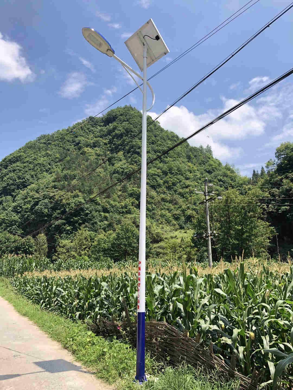 陕西省汉中市宁强县疾控中心扶贫6米太阳能路灯项目