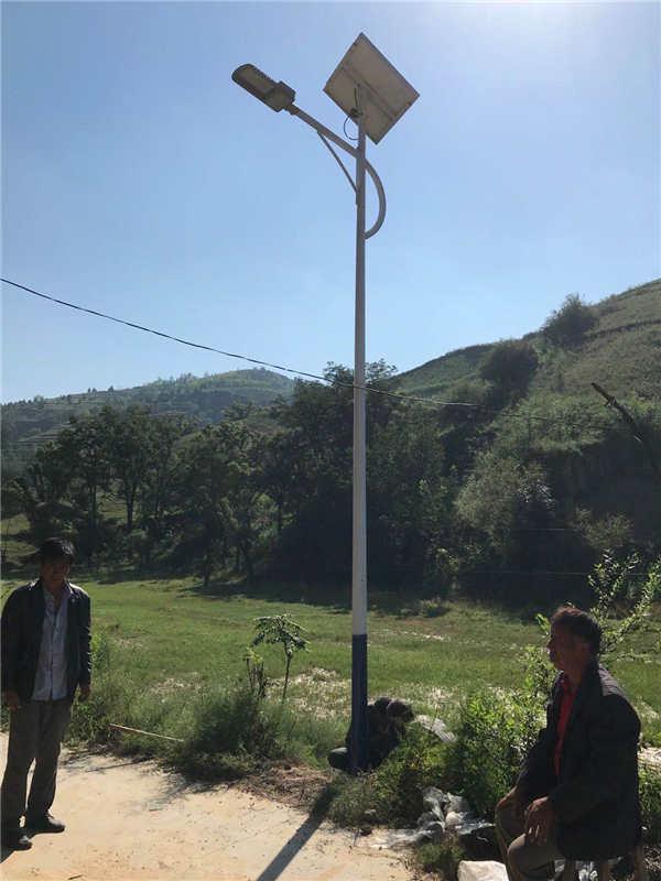 榆林市子州县三川镇   乡村太阳能路灯亮化工程