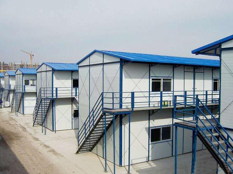 住人集装箱 专做用于工地临时宿舍