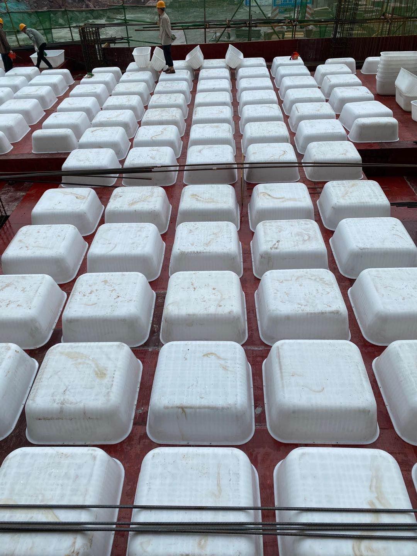 白色塑料模壳