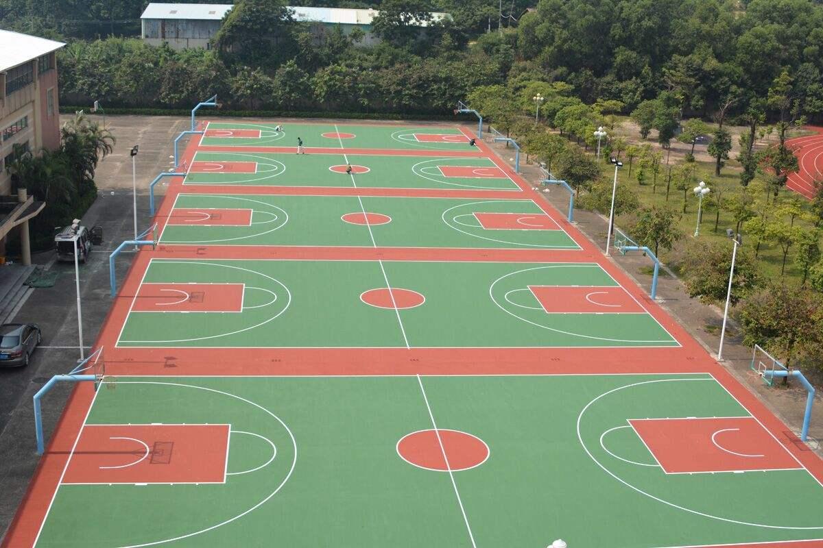 成都EPDM塑胶篮球场