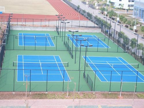成都硅PU塑胶网球场