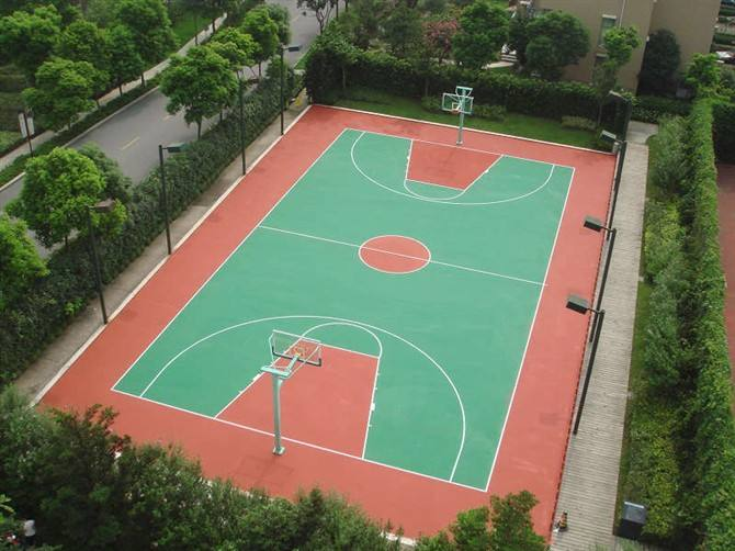 成都塑胶篮球场