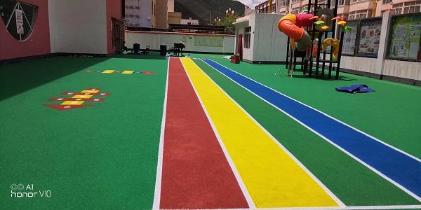 幼儿园四川塑胶球场有哪些要求?