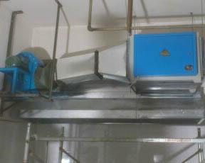 通風管道設備