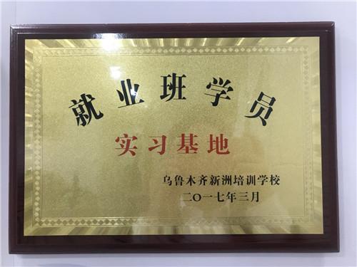 乌鲁木齐新洲培训学校实习基地