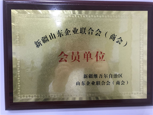新疆维吾尔族自治区山东企业联合会(商会)会员单位