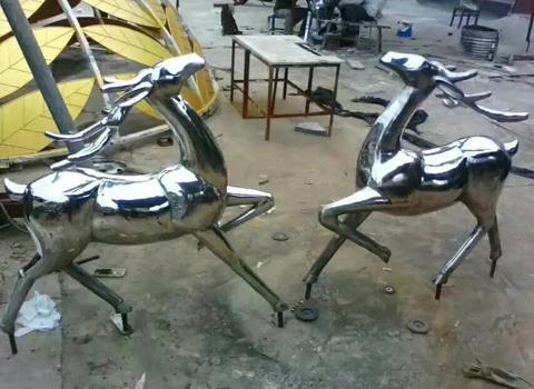 成都不锈钢雕塑的制作工艺