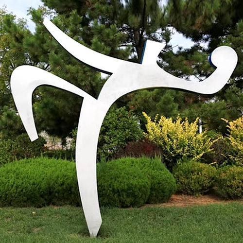 成都不锈钢雕塑作品