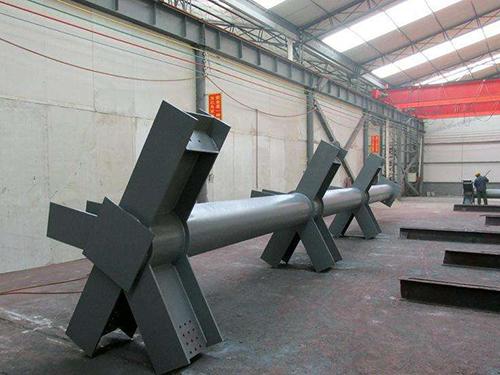 涼山鋼結構-圓管柱