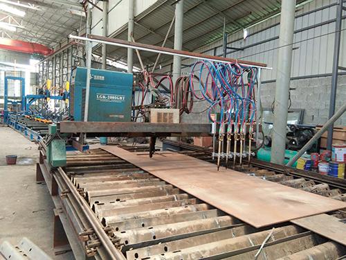 西昌H型鋼生產廠家廠區環境