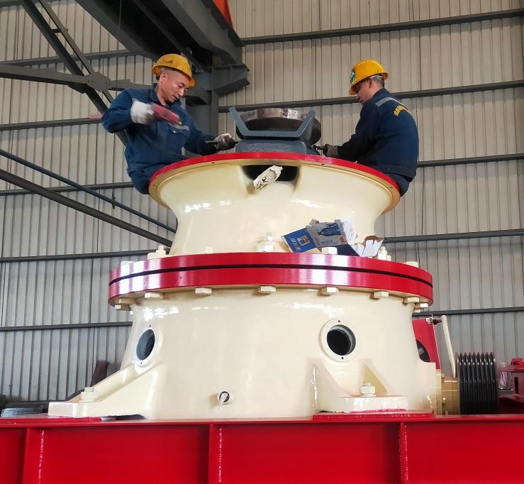 GP300单缸液压圆锥破碎机