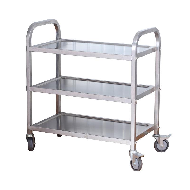 遵义酒店厨房设备   不锈钢餐车