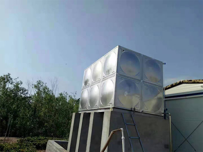 陕西镀锌板水箱安装