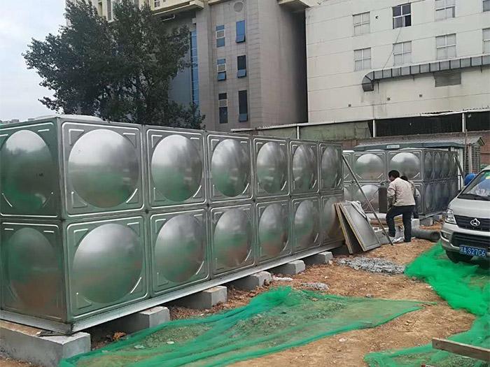 中建三局不锈钢水箱