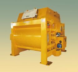 JS2000 强制式双卧轴混凝土搅拌机
