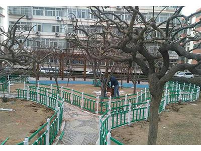 四川锌钢护栏厂家(花园护栏)