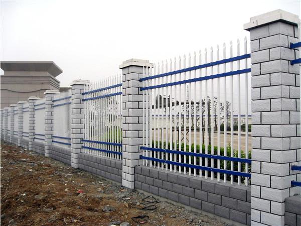 四横杆锌钢围墙护栏