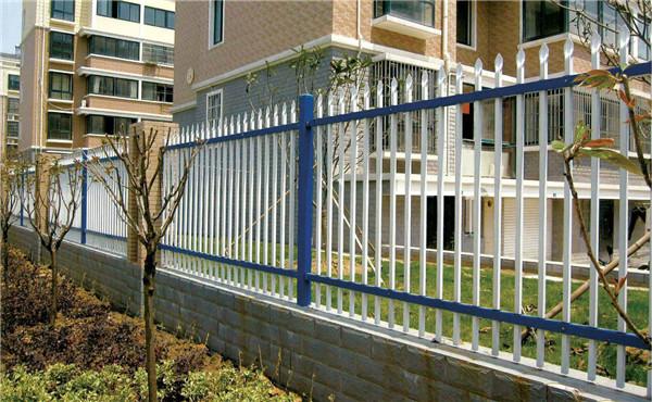 双横杆锌钢围墙护栏