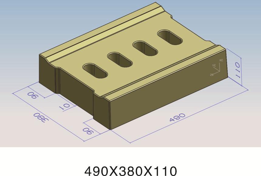 49x38x11四孔盖板