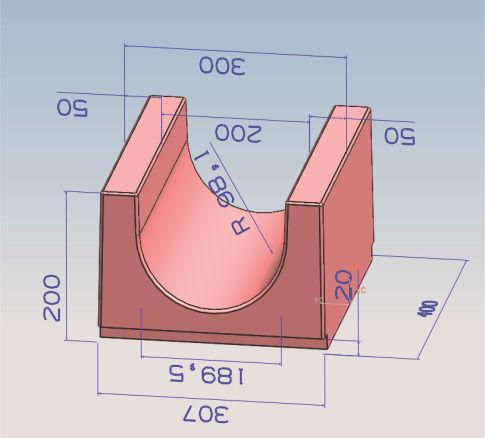 30x20x5U型槽