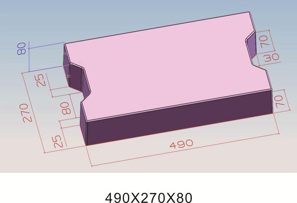 49x27x8缺边8盖板