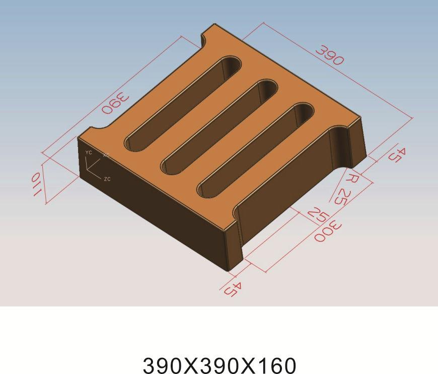 39x39x11、39x39x16三孔盖板