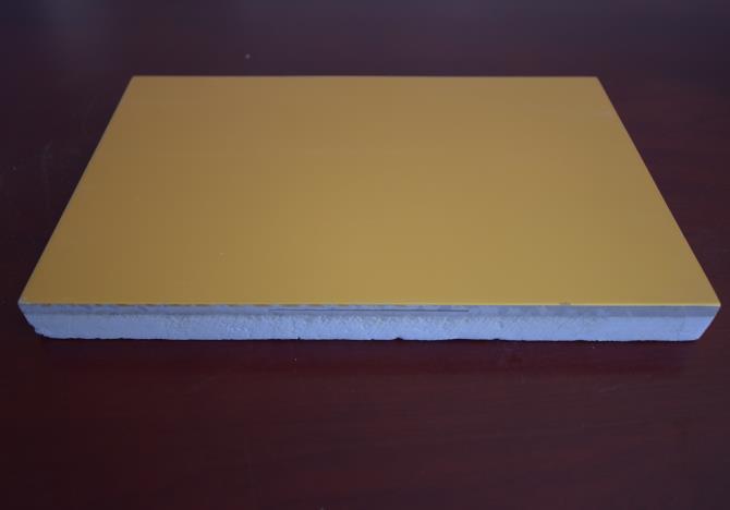 金属氟碳漆一体板