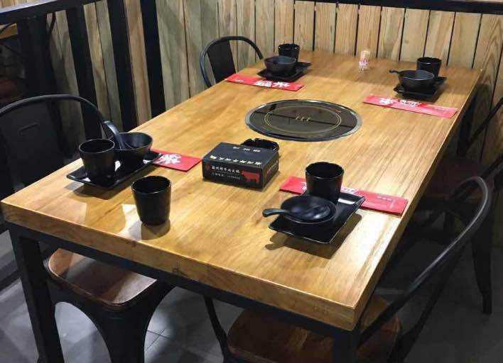 无烟火锅桌椅