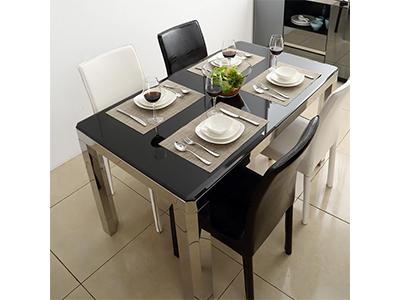 不锈钢餐桌椅