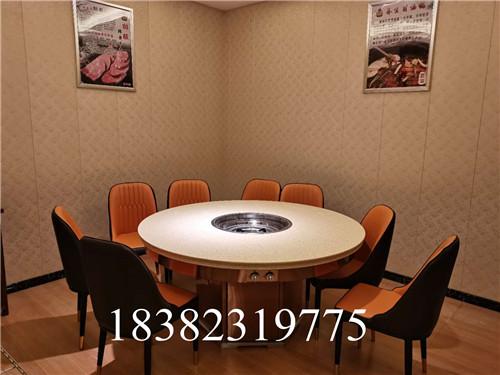 四川 烤涮一体火锅桌厂家