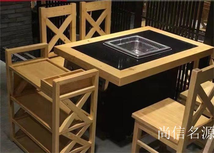 四川烤涮一体火锅桌销售
