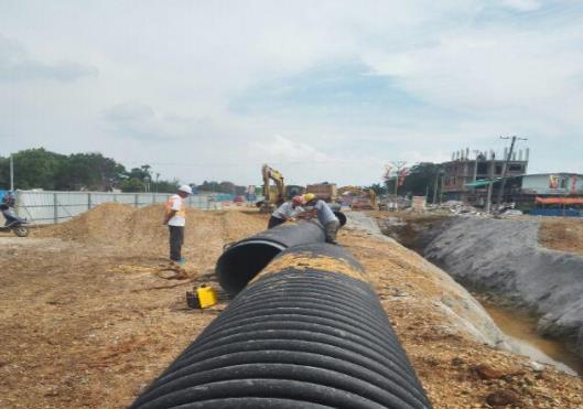 就陕西波纹管与渭南市市政道路工程合作