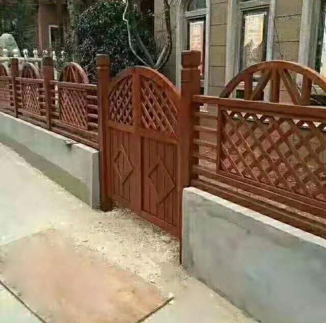祥和防腐木护栏