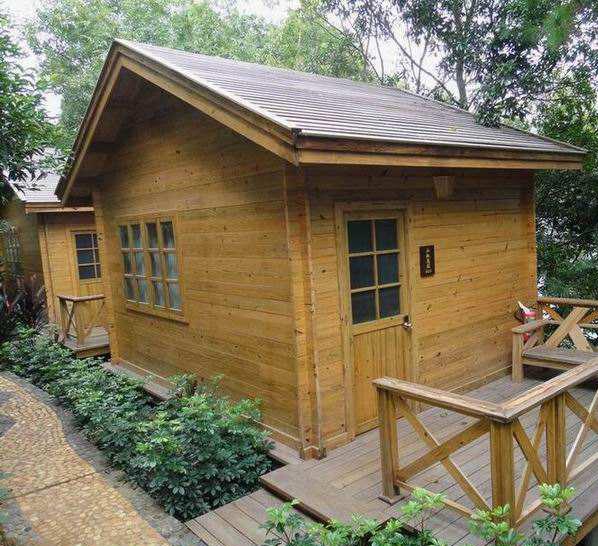 防腐木木屋建筑