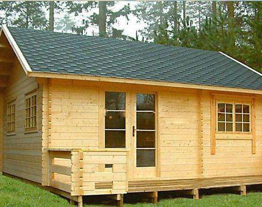 建造防腐木木屋
