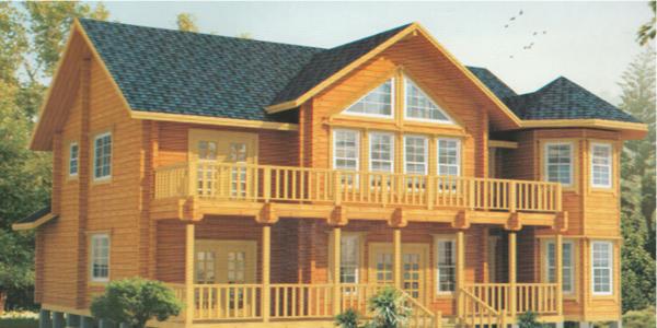 防腐木木屋建造