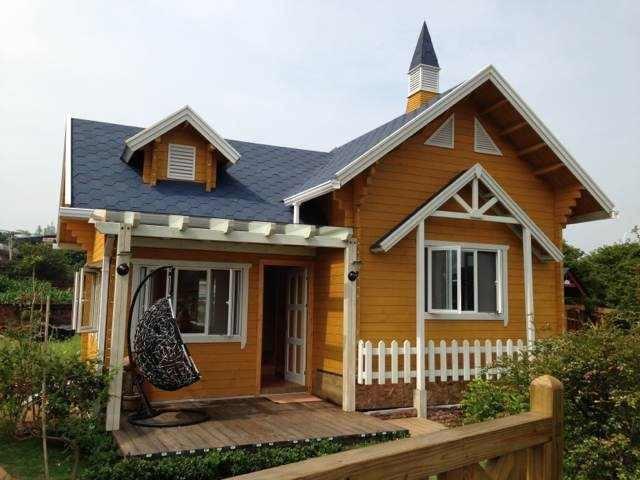 抗震 环保 轻型防腐木木屋
