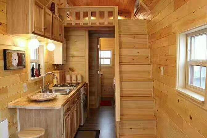 河南防腐木木屋内部结构