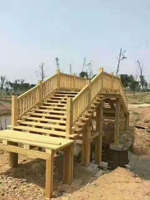 防腐木建筑